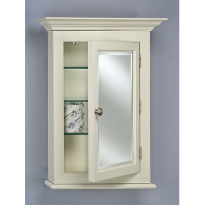 Wilshire II Small Single Door Medicine Cabinet