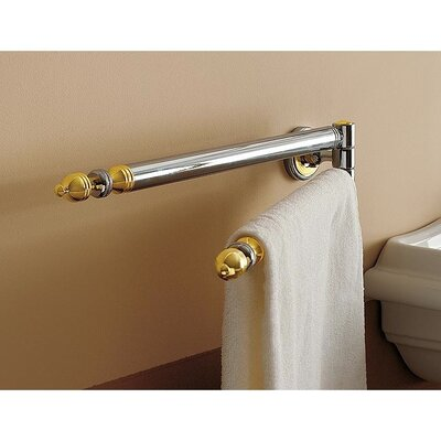 Toscanaluce by Nameeks Swivel Double Towel Rail