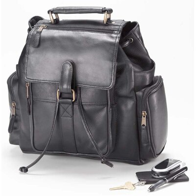 Vachetta Urban Survival Backpack in Black