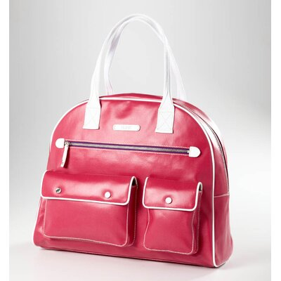 Clava Leather Carina Gym Bag in Watermelon