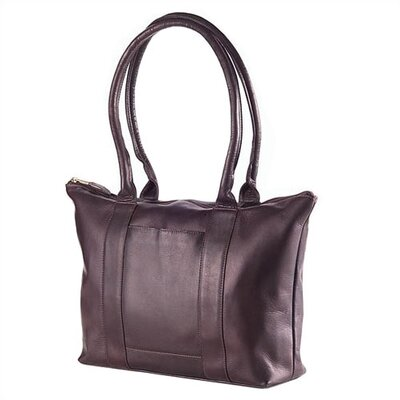 Vachetta Zip Top Shopper Tote in Café