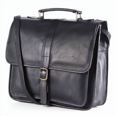 Vachetta Professional School Briefcase in Black
