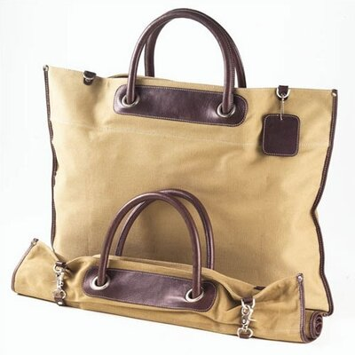 Canvas Roll Up Tote