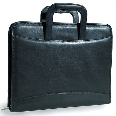 3-Ring Binder Tablet Padfolio in Tuscan Black
