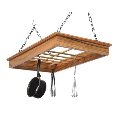 Laurel Highlands Woodshop Hanging Pot and Pan Rack