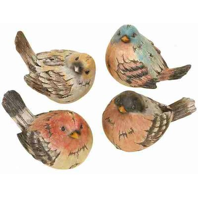 UMA Enterprises Metro Polystone Birds (Set of 4)
