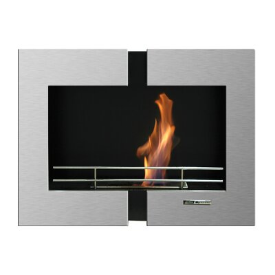BlackandStone VioFlame Wall Mount Fireplace