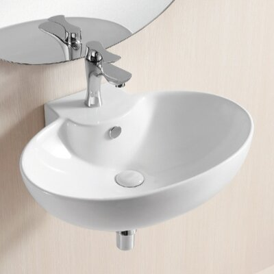 Ceramica II Wall Mounted Bathroom Sink - Caracalla CA4105