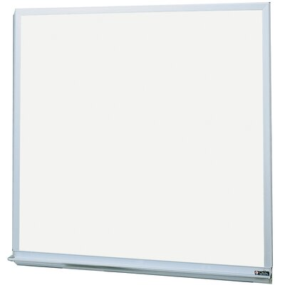 Claridge Products MLC Deluxe Markerboard with Aluminum Trim 4'H x 4'W