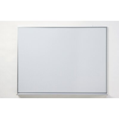 Claridge Products Special Low Gloss LCS Deluxe Wallboard with Aluminum Trim 4' x 12'