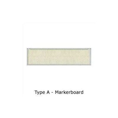 Claridge Products Series 800 Type A Markerboard 4'H x 12'W