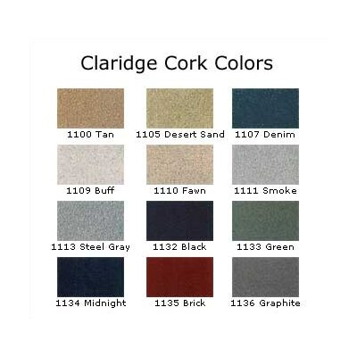 "Claridge Products Large Contemporary Series (3"" Housing) with Cork"