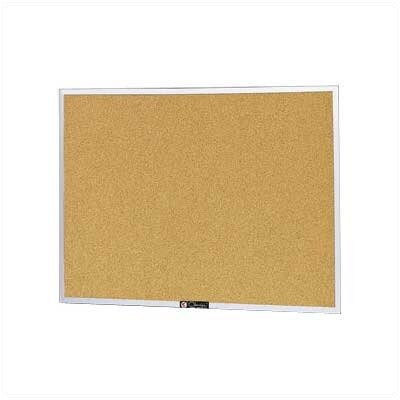 Claridge Products Style AC Aluminum Framed Bulletin Board, 24&quot; x 36&quot;