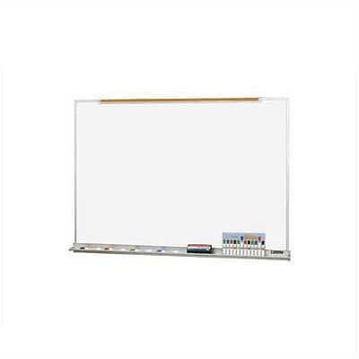 Claridge Products LCS Deluxe Wallboard with Aluminum Trim 4'H x 10'W