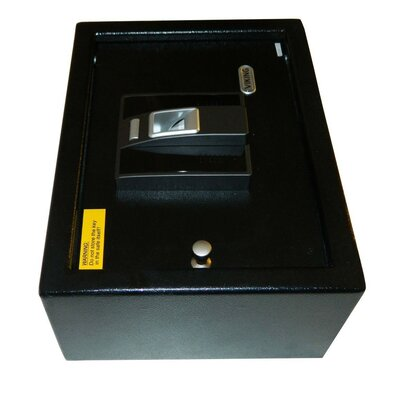 "Viking Security Biometric 4.75"" Drawer Safe in Black"