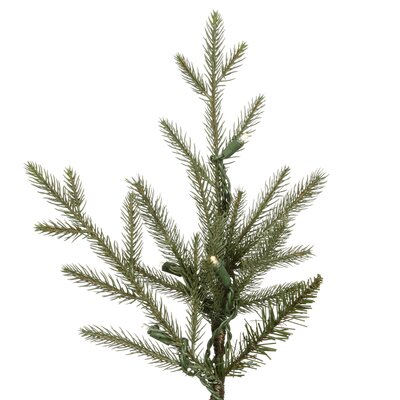 Vickerman Co. Castlerock Frasier Fir 7.5' Artificial Christmas Tree with Warm White LED Lights