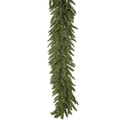"Vickerman Co. Camdon Fir 12"" Garland with 400 Clear Lights"