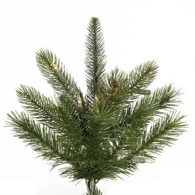 Vickerman Co. Hawthorne Instant Shape 7' Artificial Christmas Tree with Clear Lights