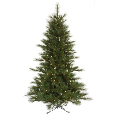 Vickerman Co. Scotch Pine 9' Green Artificial Christmas Tree with 650 Clear Dura-Lit Mini Lights