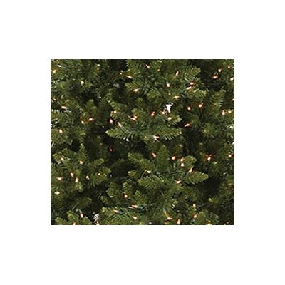 "Vickerman Co. Camdon Fir 8' 6"" Green Slim Fir Artificial Christmas Tree with 800 Pre-Lit Clear Lights with Stand"