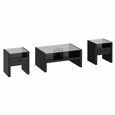 kathy ireland Office by Bush New York Skyline 3 Piece Coffee Table Set