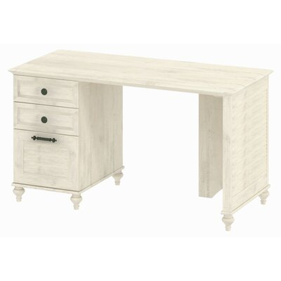 "kathy ireland Office by Bush Volcano Dusk 51"" Desk with Drawer"
