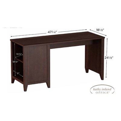 "kathy ireland Office by Bush Grand Expressions 47.64"" W Computer Desk"