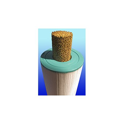 "CuZn Water Systems Core CuZn Filter for Non-Chemical Spa Use, 2"" Thickness"