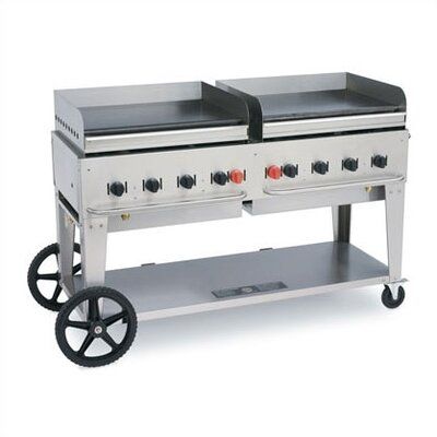 "Crown Verity 72"" Outdoor Griddle Natural Gas"