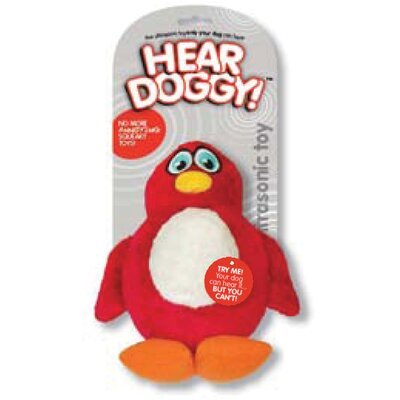Hear Doggy Plush Dog Toy Penguin