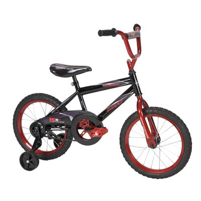 "Huffy Boy's 16"" Pro Thunder Cruiser Bike with Training Wheels"