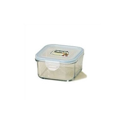 Kinetic Go Green 17-oz.. Square Glass Food Storage Container