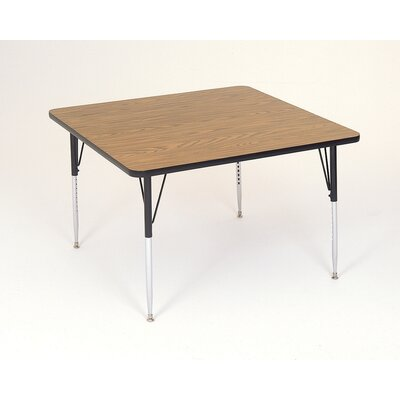 Correll, Inc. Square Activity Table with Standard Legs
