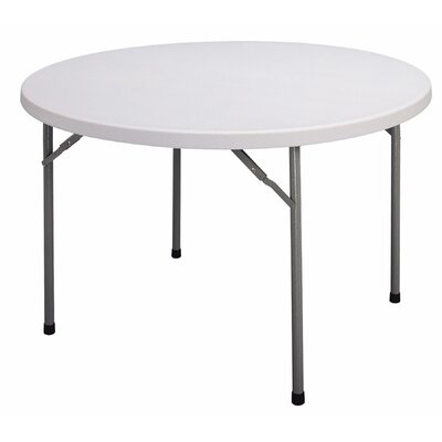 Correll, Inc. Economy Plastic Round Folding Table