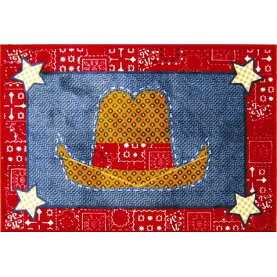 Fun Rugs Supreme Quilt Cowboy Kids Rug