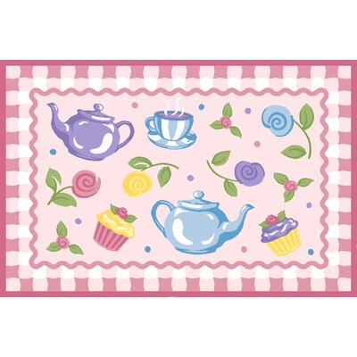 Fun Rugs Olive Kids Tea Party Kids Rug