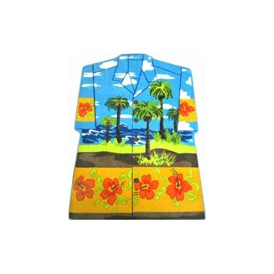 Fun Rugs Supreme Hawaiian Shirt Kids Rug