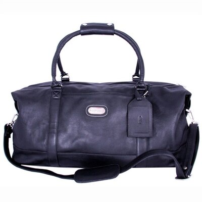"Leatherbay 23"" Leather World Travel Duffel"