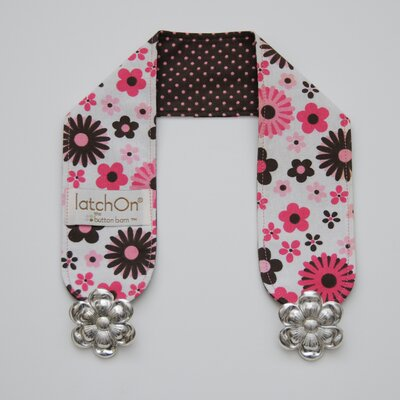 LatchOn Pink Floral Cotton Nursing Blanket Strap