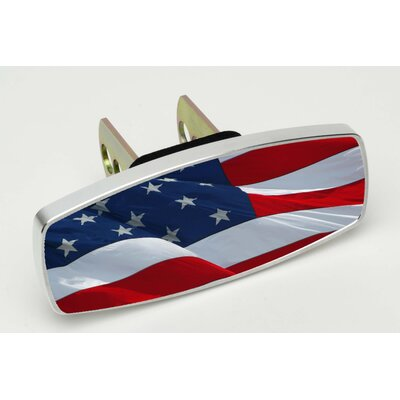 Heininger Holdings LLC HitchMate Waving Flag Premier Series Hitch Cap