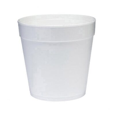 DART® 32 Oz Insulated Foam Food Container 25 / Bag in White