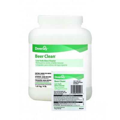 DIVERSEY™ 0.5 oz. Packet Beer Clean Glass Cleaner Unscented Powder
