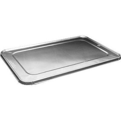 "HANDI-FOIL® 1.4"" Steam Table Pan Foil Lid Fits Full Size Pan"