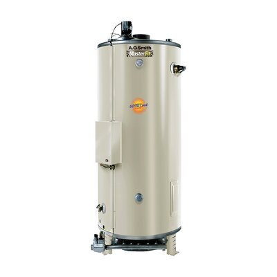 A.O. Smith Commercial Tank Type Water Heater Nat Gas 71 Gal Master-Fit 120,000 BTU Input Multiflue Model