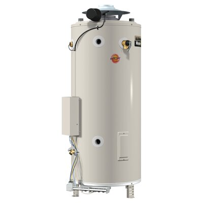 BTR-197 Commercial Tank Type Water Heater Nat Gas 100 Gal Master-Fit 197,000 BTU Input