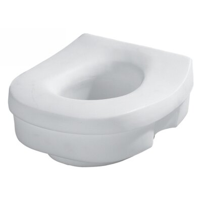 Elevated Round and Elongated Toilet Seat
