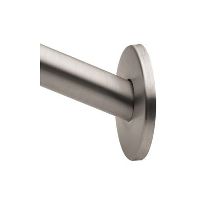 Creative Specialties by Moen Stainless Steel Shower Rod Flange Kit
