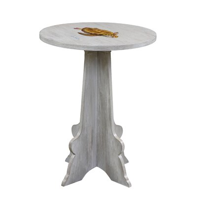 Gail's Accents Shoreline Dick's Sea Turtle End Table