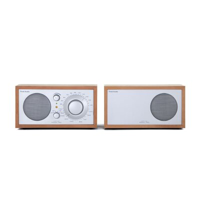 Tivoli Audio LLC Model Two Stereo in Cherry / Silver