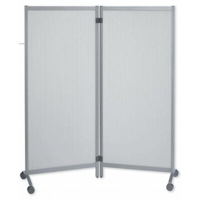Paperflow Mobile partitions in Silver